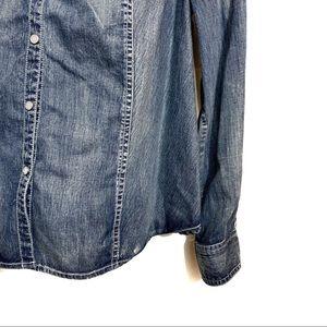 Harley-Davidson Tops - Harley Davidson cotton button up shirt size 1W